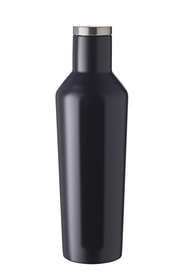 SMITH & NOBEL SMART SHAPE STAINLESS STEEL BOTTLE 450ML BLACK