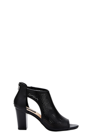 KHOKO Emily Cut Out Perforated Ankle Boot