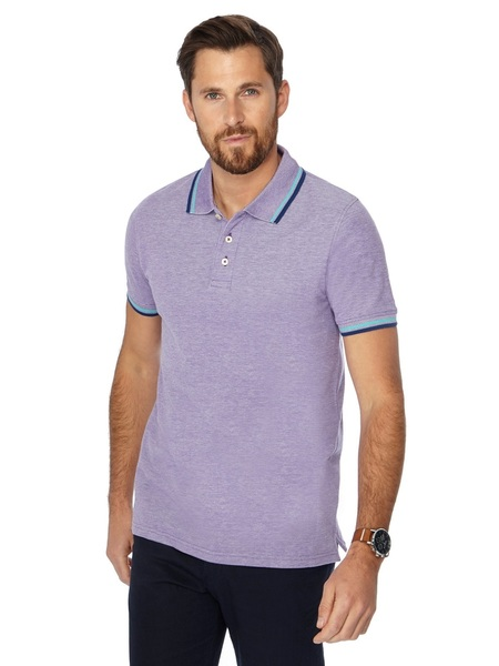 3d465f443bb MAINE NEW ENGLAND Tailored Fit Polo Shirt | Harris Scarfe