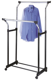 STORE & ORDER Double Parellel Garment Rack