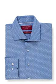 VAN HEUSEN Slim Fit Dobby Stripe Shirt