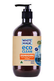 WHITE MAGIC ECO CLEAN DISHWA LIQUI 500ML