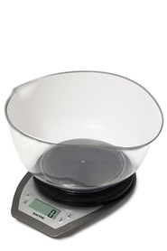 SALTERDUAL POUR KITCHEN SCALE W/BOWL 5KG