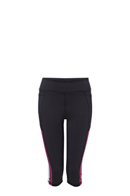 LMA ACTIVE Blockout Crop Side Print Legging