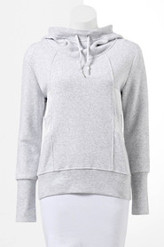 SIMPLY VERA VERA WANG Women'S Mesh Hood Sweat