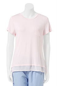 SASH & ROSE AVA RNECK S/S XST002RS