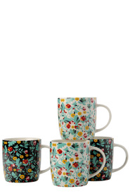 CASA DOMANI PIANILLO MUG SET OF 4 350ML