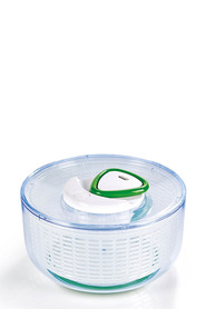 ZYLISS EASY SPIN LGE SALAD SPINNER CLEAR