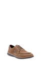 HUSH PUPPIES LACE UP NUBUCK B, BROWN, 41
