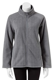 SAVANNAH Cheveron Fleece Jacket
