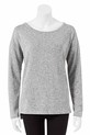 BONDS W TEXT KNIT PULLOVER C, GRY-MLE, M