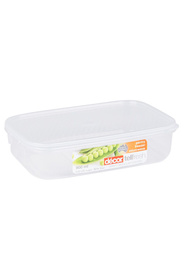DECOR Tellfresh Plastic Oblong Food Storage Container 900Ml