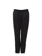 NMA Lightweight Zip Trackpant Black