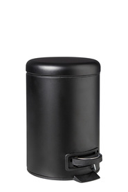 STORE & ORDER Loft Semi Dome Top Pedal Bin Black