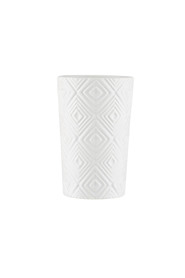 MOZI Embossed Tumbler White