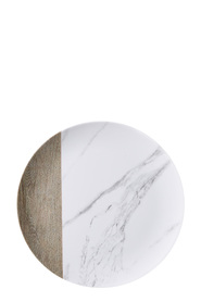 SHAYNNA BLAZE Dinner Plate Marble Decal