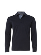 WEST CAPE Mens Cotton Soft Touch Jersey Long Sleeve Polo