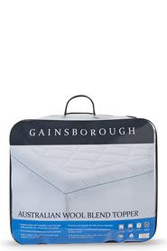 GAINSBOROUGH AUST WOOL BLEND TOPPER DB