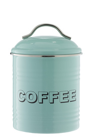 SMITH & NOBEL  Retro canister  coffee blue