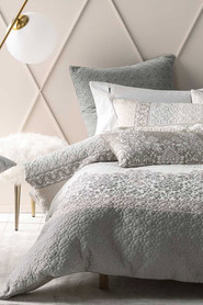 LINEN HOUSE Faith Cotton Quilt Cover Set QB