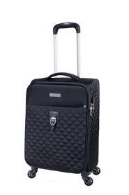 TOSCA Paris Quilted 4WD Small Trolley Case