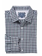 WEST CAPE CLASSIC MENS EASYWEAR LONG SLEEVE OXFORD CHECK SHIRT