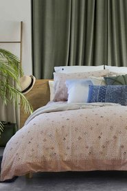 JAMIE DURIE Jambi Quilt Cover Set Queen Bed