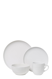 SHAYNNA BLAZE Beachport 16pc White Dinnerset