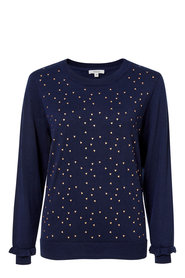 KHOKO COLLECTION Printed Pullover