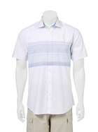 WEST CAPE CONTEMPORARY Relaxed Wash Engineered Stripe Shirt