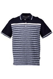 BRONSON Engineered Stripe Polo