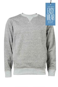 URBAN JEANS CO Twist Yarn Crew Neck Knit