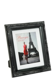 LIFESTYLE BRANDS Baroque 8X10inch Black Photo Frame