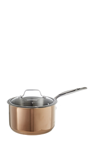 SMITH & NOBEL Geneva Copper Saucepan 20cm