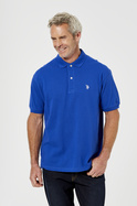 U.S. POLO ASSN. Short Sleeve Regular Fit Cotton Pique Polo Shirt