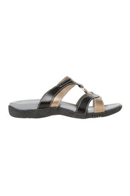BENNICCI FERN TWO TONE LEATHER SLIDE