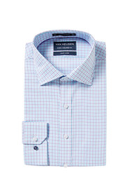 VAN HEUSEN Euro Fit Gingham Check Shirt