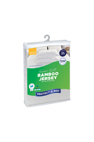 PROTECT A BED Bamboo Jersey Pillow Protector