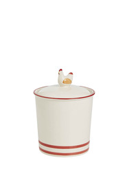 S+N CERAMIC CHICKEN CANISTER 750ML