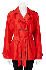 SAVANNAH Florence Trench Coat.