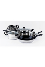 SMITH & NOBEL Traditions 5pc Stainless Steel Cookset
