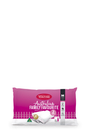 TONTINE Family Favourite 2pk Medium Pillow