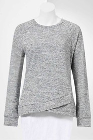 SIMPLY VERA VERA WANG Women'S Austin Tulip Front Sweat