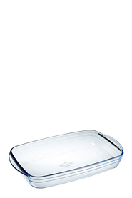 O'CUISINE Glass Rectangle Roaster 2.6L