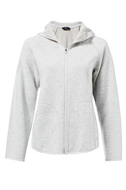 LMA ACTIVE MICROFLEECE LINED ZIP THROUGH JACKET