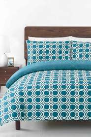 SOREN Reese Cotton Quilted Quilt Cover Set QB