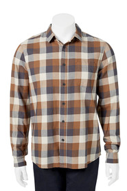 URBAN JEANS CO Long Sleeve Check Shirt