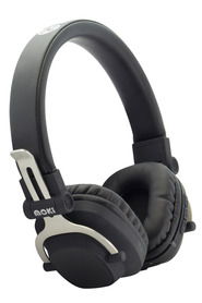 MOKI Exo Bluetooth Headphones Double Black