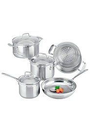 SCANPAN 5Pc Impact Stainless Steel Cookset