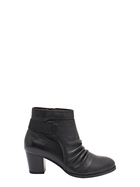 HUSH PUPPIES Venus Leather Ruched Boot